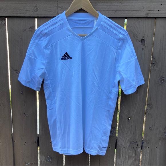 adidas Shirts   Adidas Climacool Soccer Jersey   Poshmark